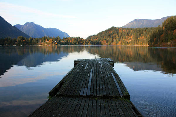Photograph - Kawkawa Lake by Gerry Bates