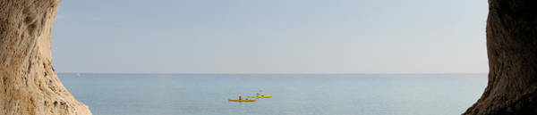 Kayaks Wall Art - Photograph - Kayak In The Sea, Cala Luna Beach, Cala by Panoramic Images