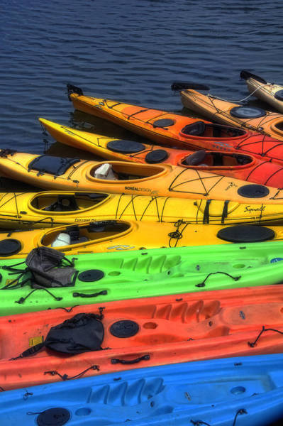 Wall Art - Photograph - Kayak Rainbow by Joann Vitali