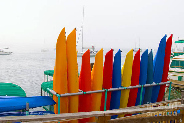 Photograph - Kayak Rental Business by Richard J Thompson