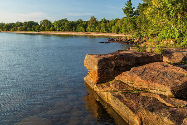 Campsite Wall Art - Photograph - Kayakers At Campsites On York Island by Chuck Haney