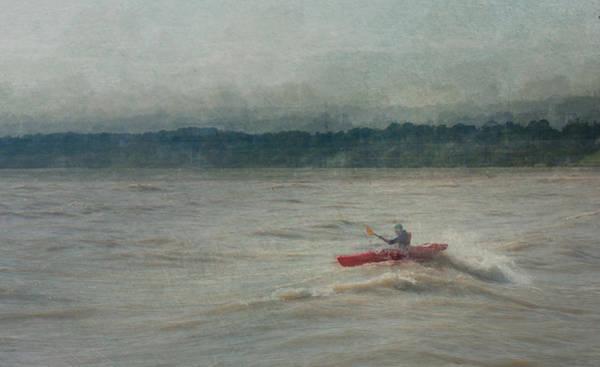 Digital Art - Kayaking In Port Dover by Eduardo Tavares