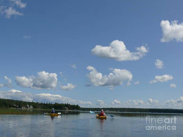 Madawaska Lake Photograph - Kayaking The Lake by Brenda Ketch