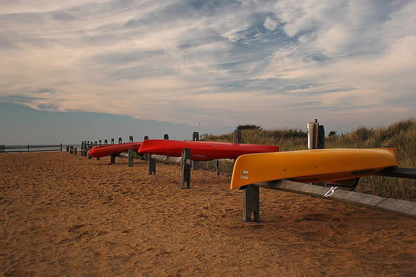 Photograph - Kayaks by Amazing Jules