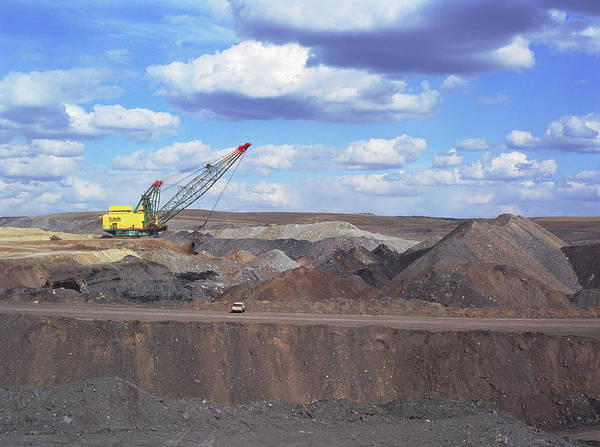 Coal Mining Photograph - Kayenta Open Cast Coal Mine by Simon Fraser/science Photo Library