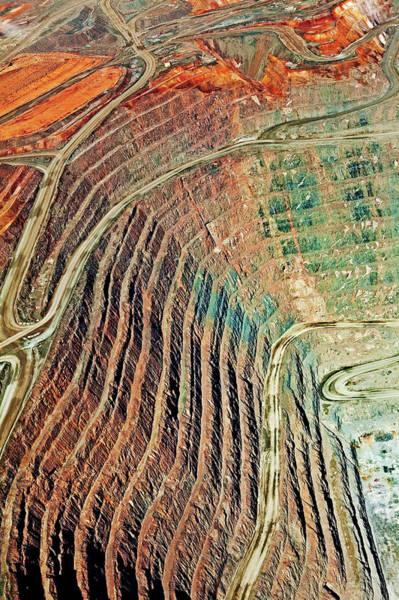 Gold Mine Photograph - Kcgm. Gold Mine,western Australia by John W Banagan