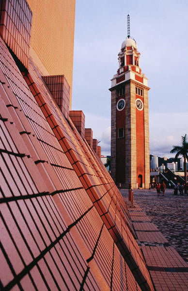 Casual Photograph - Kcr Clock Tower And Cultural Centre On by Richard I'anson