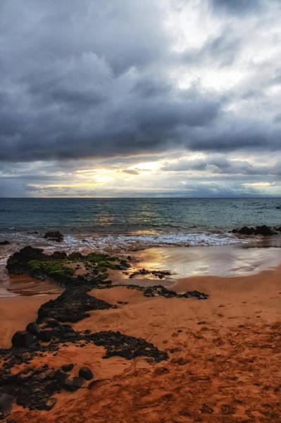 Photograph - Keawakapu Sunset by Lars Lentz