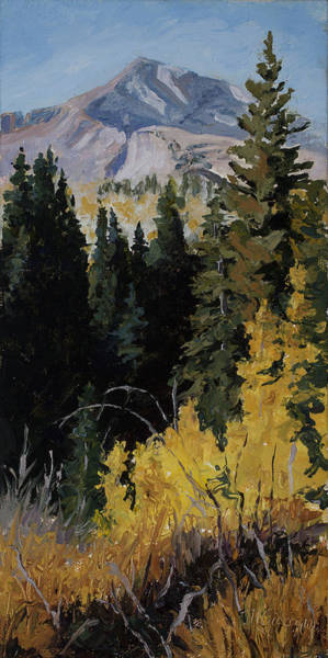 Painting - Kebler Pass by Mary Giacomini
