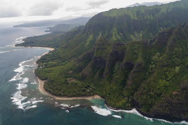 Wall Art - Photograph - Kee Beach Along The Na Pali Coast - Kauai Hawaii by Brian Harig