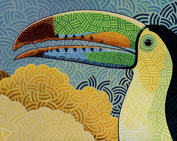 Wall Art - Painting - Keel-billed Toucan by Nathan Miller