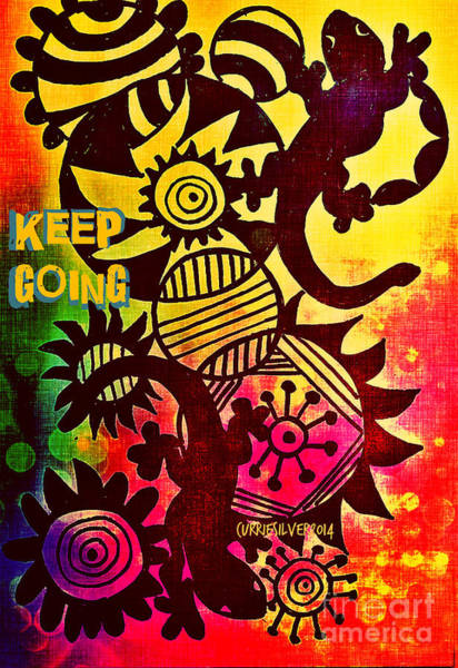 Keep Going Art Print by Currie Silver