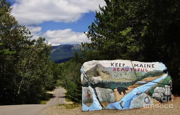 Keep Maine Beautiful Art Print