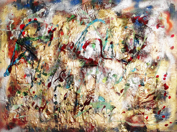 Painting - Keep Moving Forward by Yael VanGruber