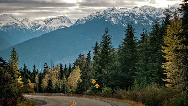 Pemberton Photograph - Keep Your Eyes On The Road by Steven Olmstead Photography