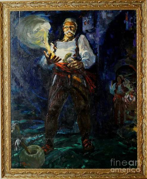 Painting - Keep Your Powder Dry by Sefedin Stafa