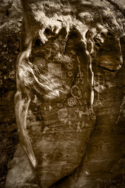 Petroglyph Photograph - Keeper Of The Stories by Medicine Tree Studios