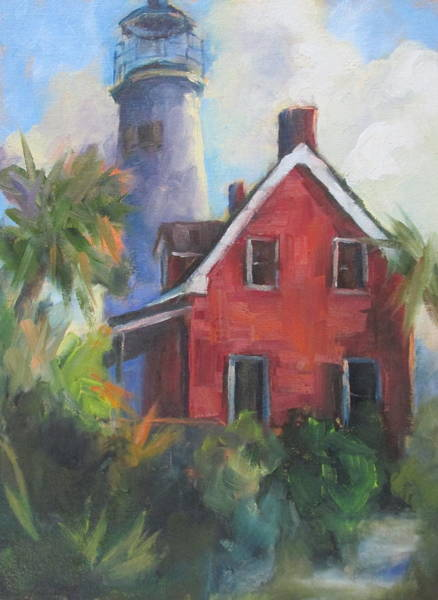 Wall Art - Painting - Keepers Cottage by Susan Richardson