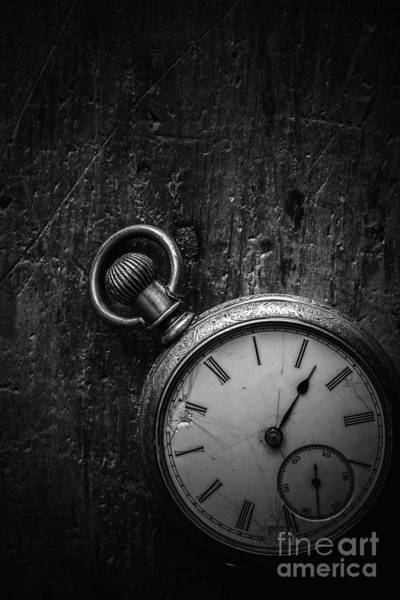 Photograph - Keeping Time Black And White by Edward Fielding