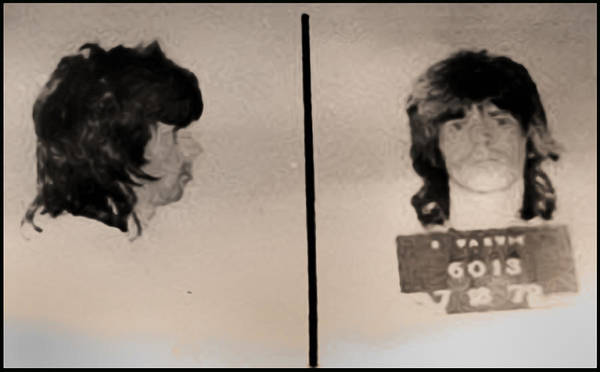 Wall Art - Photograph - Keith Richards Mugshot - Keith Don't Go by Digital Reproductions