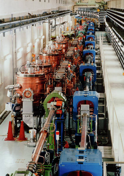 Particle Accelerator Wall Art - Photograph - Kek-b Accelerator by Tokio K. Ohska/science Photo Library