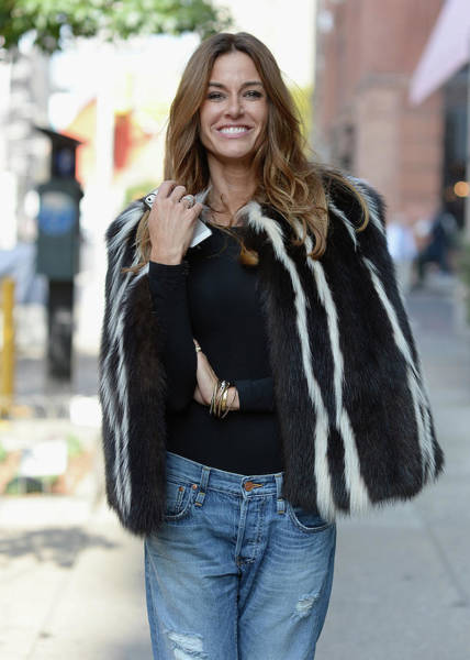 Candid Photograph - Kelly Bensimon Sighting In New York by Dimitrios Kambouris