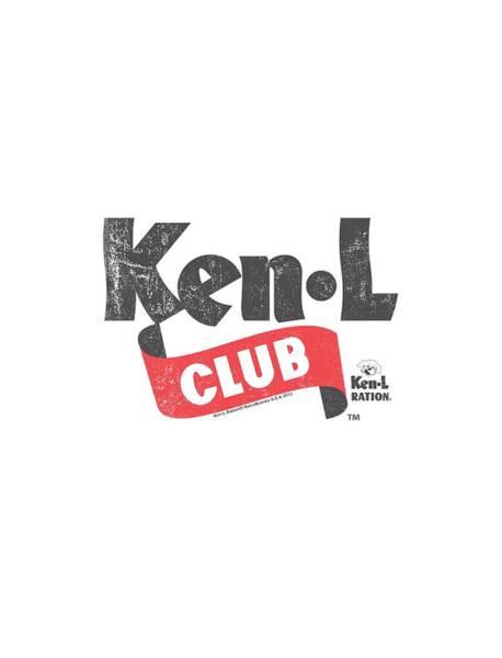 L Digital Art - Ken L Ration - Ken L Club by Brand A