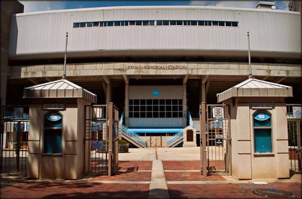 Photograph - Kenan Memorial Stadium - Gate 6 by Paulette B Wright