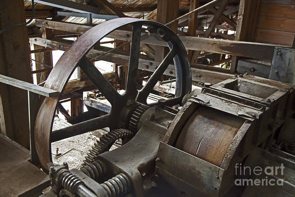 Photograph - Kennecott Copper Mill by Jim West