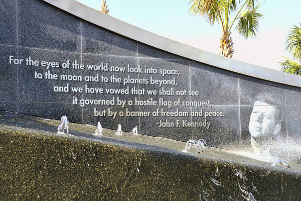 Photograph - Kennedy And Space by Bill Dodsworth