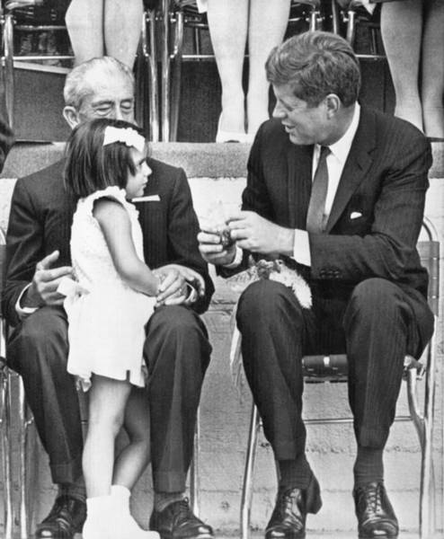 Appearance Photograph - Kennedy In Mexico City by Underwood Archives