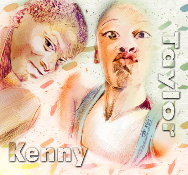 Unity Drawing - Kenny And Taylor by Terri Meredith