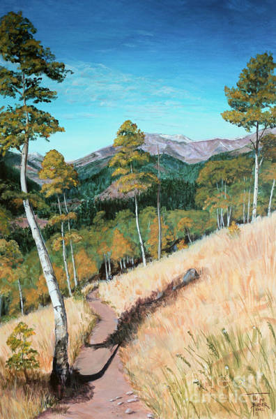 Painting - Kenosha Pass - Colrado Trail by Art By - Ti   Tolpo Bader