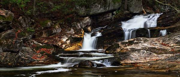 Photograph - Kent Falls Panoramic by Mike Farslow