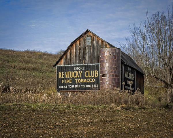 Photograph - Kentucky Club Barn by Jack R Perry
