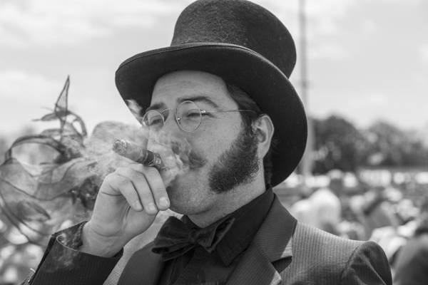 Photograph - Kentucky Derby Infield Cigar by John McGraw
