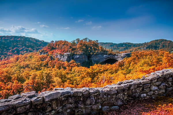 Photograph - Kentucky - Natural Arch Scenic Area by Ron Pate