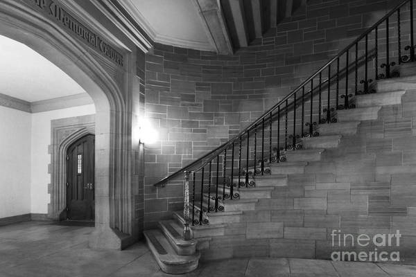 Photograph - Kenyon College Peirce Stairway by University Icons