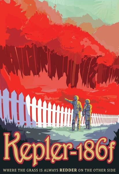 Wall Art - Photograph - Kepler-186f Space Tourism Poster by Jpl-caltech/science Photo Library