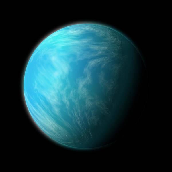 Kepler 22b Art Print