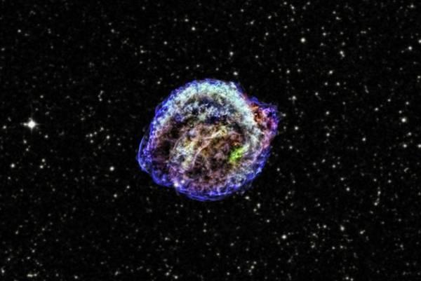 1604 Photograph - Kepler Supernova Remnant by Nasa