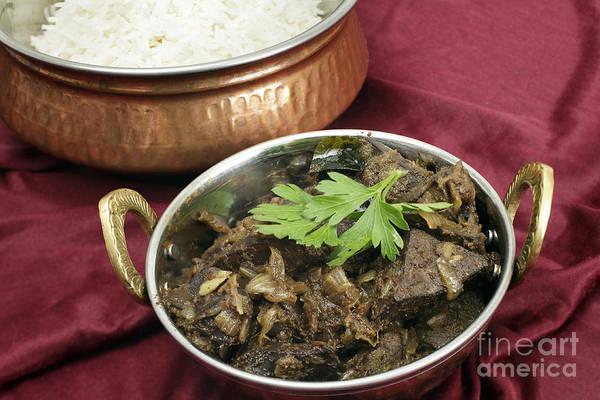 Photograph - Kerala Mutton Liver Fry Horizontal by Paul Cowan