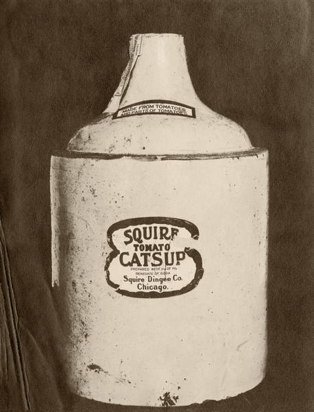 Preservative Wall Art - Photograph - Ketchup Bottle by Us National Archives