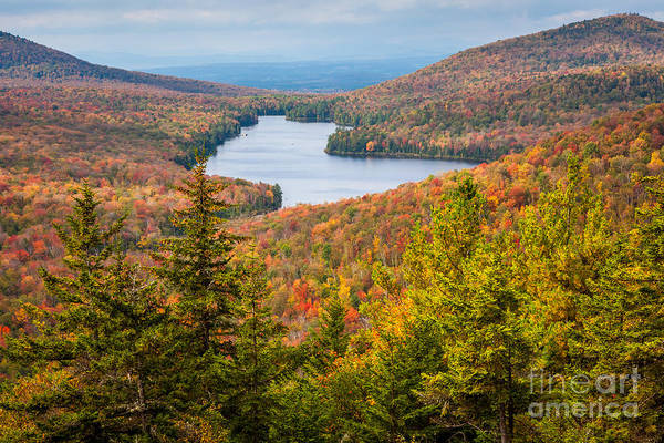 Photograph - Kettle Pond From Owl's Head by Susan Cole Kelly