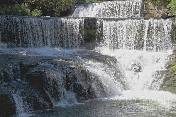 Photograph - Keuka Seneca Waterfall by William Norton