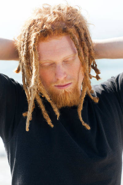 Dread Photograph - Kevin by Invicta I Shoot the Hotness