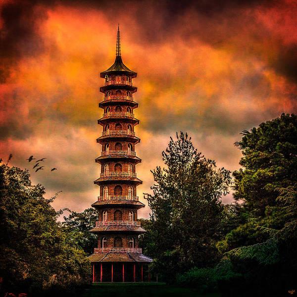 Photograph - Kew Gardens Pagoda by Chris Lord