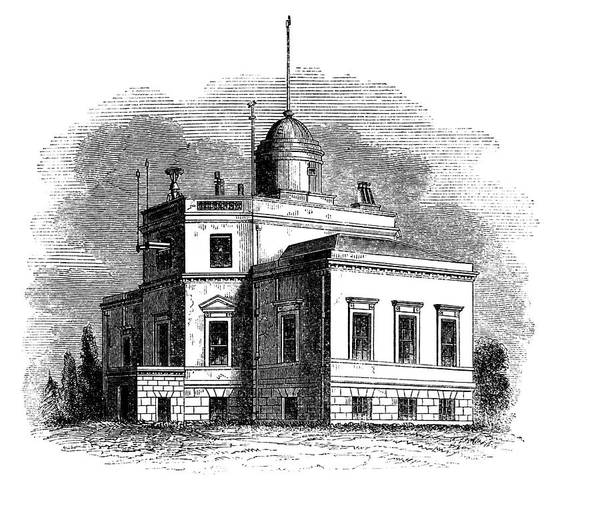 1851 Photograph - Kew Observatory by Royal Astronomical Society/science Photo Library