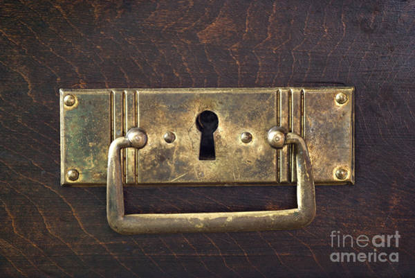 Chest Of Drawers Photograph - Key Hole by Michal Boubin