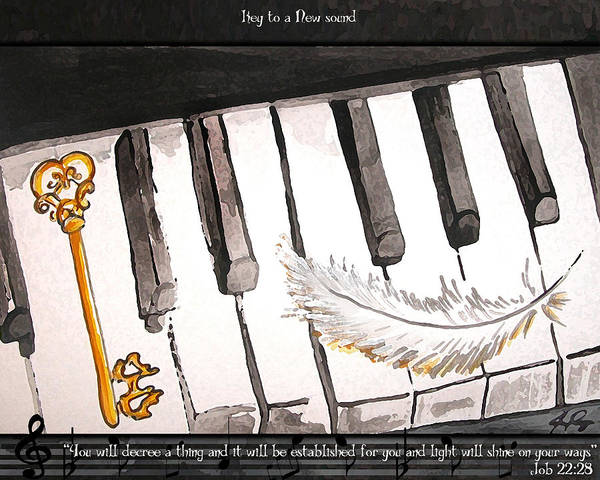 Key To A New Sound Art Print